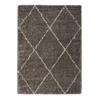 Šedý koberec Universal Lynn Lines, 60 x 110 cm