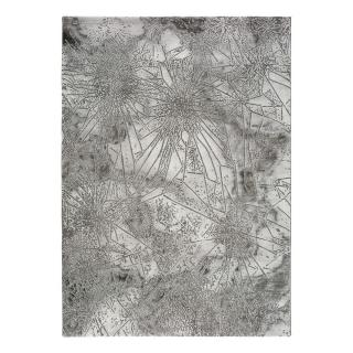 Šedý koberec Universal Norah Abstract, 140 x 200 cm