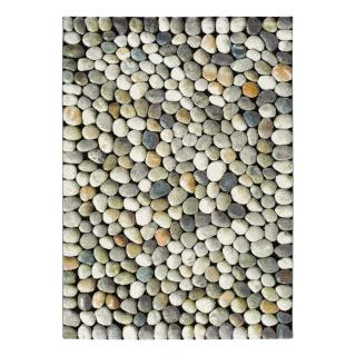 Šedý koberec Universal Sandra Stones, 80 x 150 cm