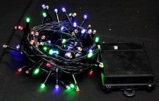 Seizis Osvětlení venkovní samozapínací barevné 80 LED - použité