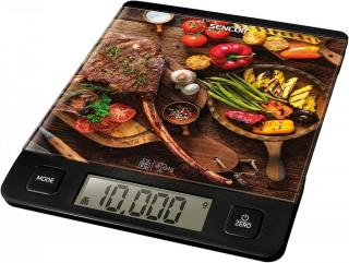 SENCOR SKS 7001BK kuchyňská váha - zánovní