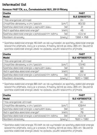 SENCOR SLE 40FS600TCS - rozbaleno
