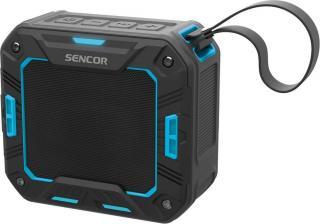 SENCOR SSS 1050 přenosný reproduktor, modrá - rozbaleno