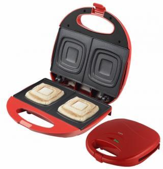 Sendvičovač Orava ST-105 AR pro přípravu čtvercových toastů