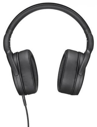 Sennheiser HD 400S sluchátka s mikrofonem, černá - zánovní