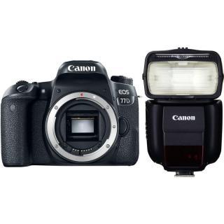 Set Canon EOS 77D   blesk 430EX III-RT