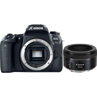 Set Canon EOS 77D   EF 50 mm f/1.8 STM