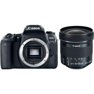 Set Canon EOS 77D   EF-S 10-18 mm f/4.5-5.6 IS STM