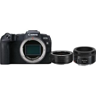 Set Canon EOS RP   adapter   EF 50 mm f/1.8 STM