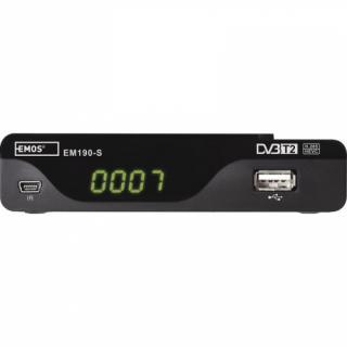 Set-top box EMOS EM190-S HD černý
