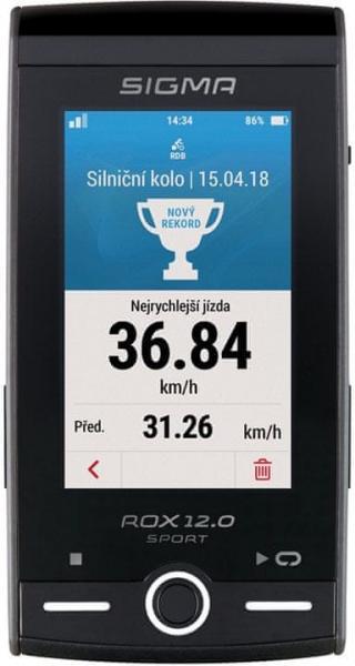 Sigma ROX 12.0 Sport Set bílý - rozbaleno