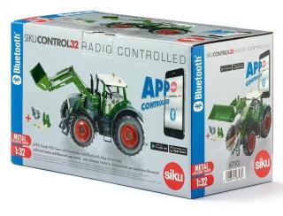 Siku control - bluetooth, fendt 933 s předním nakladačem
