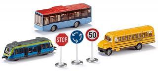 SIKU Set městská vozidla   značky - rozbaleno