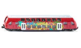 Siku super - dvoupatrový vlak