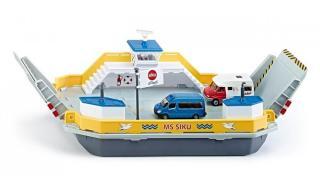 SIKU Super - Trajekt pro přepravu aut, 1:50 - rozbaleno