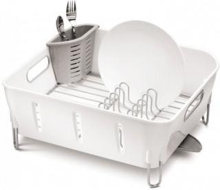 Simplehuman Odkapávač na nádobí Compact, bílá - rozbaleno