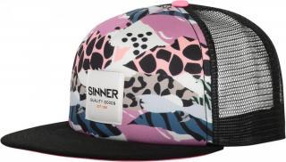 SINNER dámská kšiltovka Animal Camo Pink/Blue SIWE-501-70
