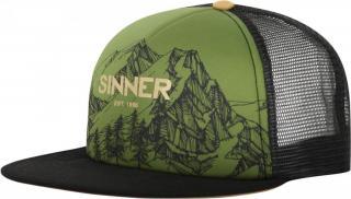SINNER unisex kšiltovka Mountains Zelená SIWE-500-75