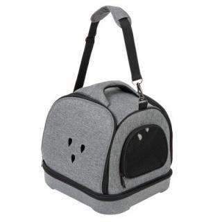 Skládací přenosná taška Nico - d 38 x š 35 x v 44 cm - šedá