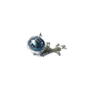 Skleněný modrý náhrdelník Ko-ra-le Wired Long
