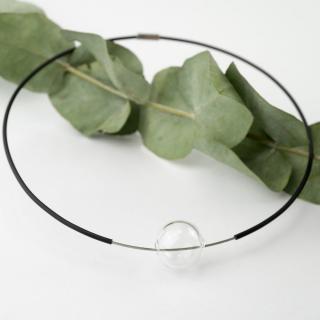 Skleněný náhrdelník Ko-ra-le Tao Ball