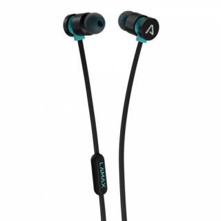 Sluchátka LAMAX Spire1 černá/tyrkysová