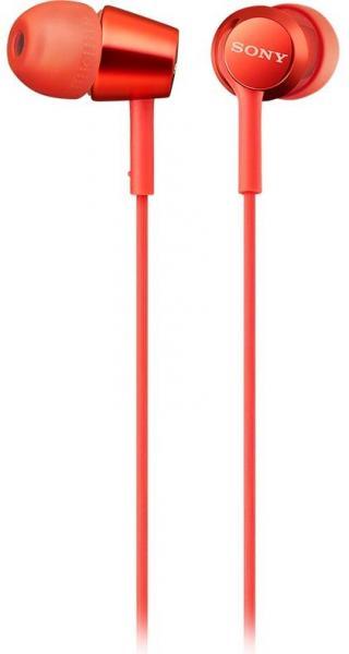 Sluchátka Sony MDR-EX155APR červená