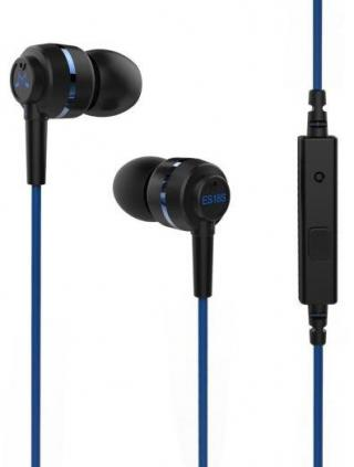 Sluchátka SoundMAGIC ES18S černá/modrá