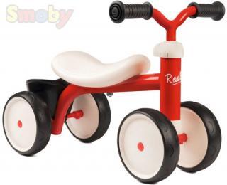 SMOBY Baby odrážedlo Rookie červené odstrkovadlo pro miminko