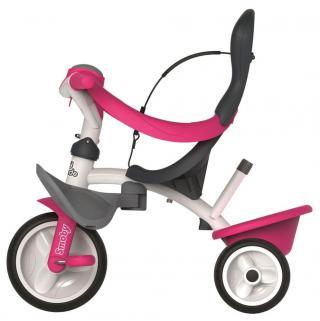 Smoby Tříkolka Baby balade 2 růžová - zánovní