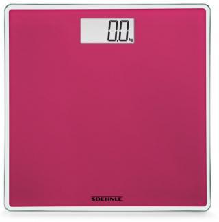 Soehnle Digitální osobní váha Style Sense Compact Think Pink - zánovní