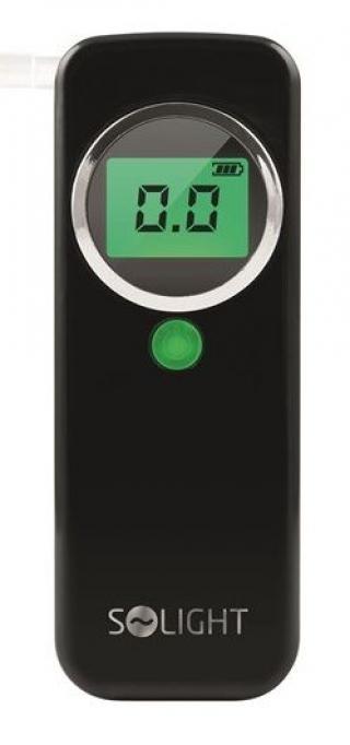 Solight alkohol tester, 0,0 - 1,5‰ BAC, citlivost 0,2‰ - rozbaleno