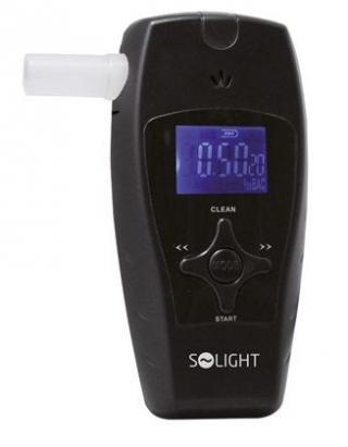 Solight alkohol tester profi, 0,0 - 3,0‰ BAC, citlivost 0,1‰ - zánovní