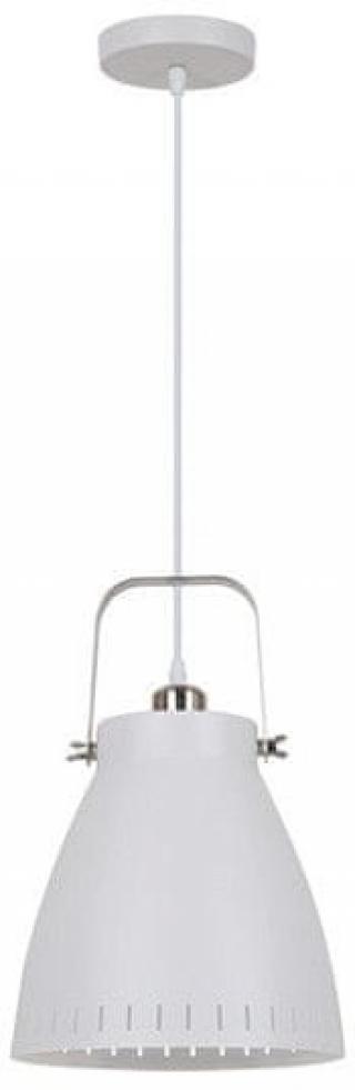 Solight lustr Torino single, 26,5 cm, E27 bílá - zánovní