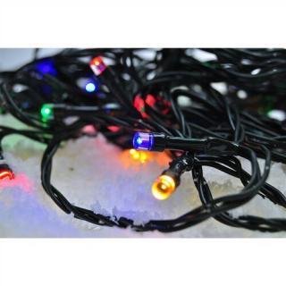 Solight Světelný venkovní řetěz 300 LED, 30 m, barevná