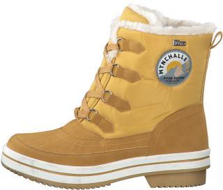 s.Oliver Dámské sněhule Mustard Comb. 5-5-26245-33-610 41