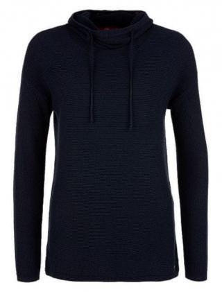 s.Oliver dámský svetr 34 tmavě modrá - zánovní