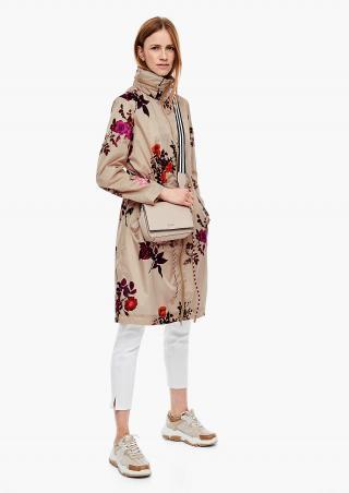 s.Oliver jarní dámský kabát s květinovým potiskem 05.003.52.2395/80A0 Multi 42