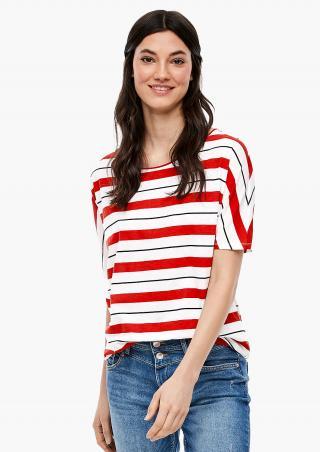 s.Oliver Q/S dámské pruhované tričko 41.003.32.5744/31G0 Multi XS