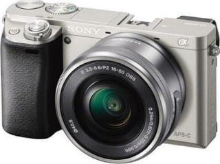 Sony Alpha 6000   16-50 mm Silver  - rozbaleno