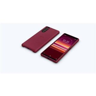 Sony Mobile SCBJ10 Style Back Cover pro Xperia 5 Red