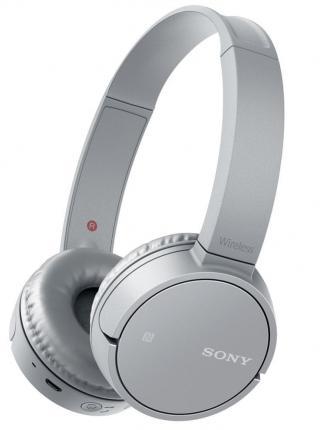 Sony WH-CH500 bezdrátová sluchátka, bílá/šedá - použité