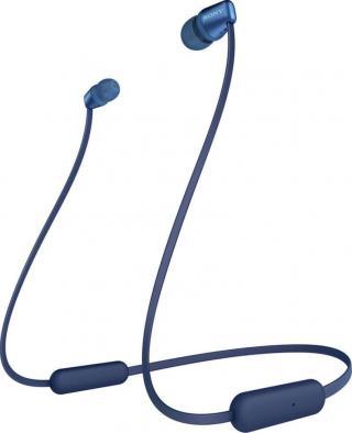Sony WI-C310 bezdrátová sluchátka, modrá - rozbaleno