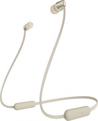 Sony WI-C310 bezdrátová sluchátka, zlatá - zánovní