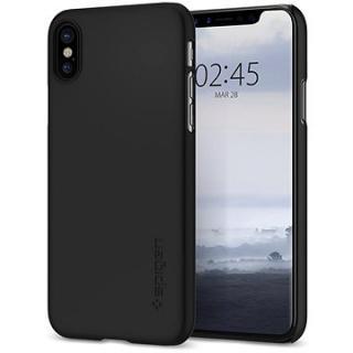 Spigen Thin Fit Black iPhone X/XS