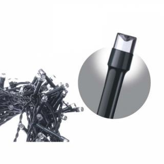 Spojovací řetěz EMOS krápník 100 LED, 2,5m, studená bílá
