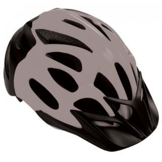 Spokey CHECKPOINT Cyklistická přilba pro dospělé a juniory , 58-61 cm, šedá