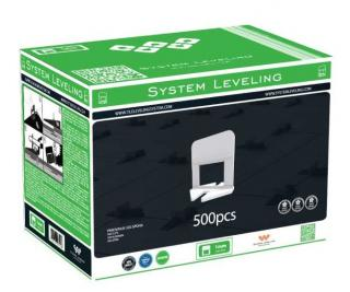 Spony System Leveling - 1mm 500ks