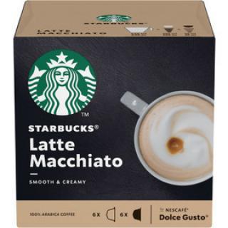 STARBUCKS LATTE MACCHIATO 12Kaps. 129g