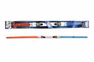 Svítící meč/tyč plast 89cm rozložitelný vysouvací